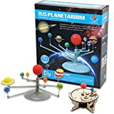 Whoopie Solar System Planetarium, Solar System Model with Sun Moon Earth Running Model, DIY Science Educational Kits for Kids, Boys and Girls