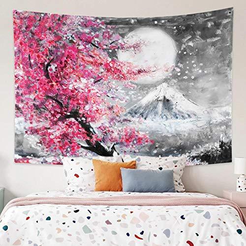 Tapiz Paisaje Pintura al óleo Impresión Colgante de pared Toalla de playa Tapiz Decoración Colgante de pared Decoración para el hogar para sala de estar Dormitorio Dormitorio 150x200cm