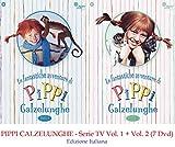 PIPPI CALZELUNGHE - Serie TV Vol. 1 + Vol. 2 (7 Dvd)