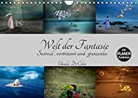Welt der Fantasie - Surreal, vertraeumt und grenzenlos (Wandkalender 2022 DIN A4 quer): Surreale Bildkompositionen - Lassen Sie der Fantasie freien Lauf (Geburtstagskalender, 14 Seiten )