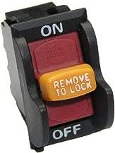 Ryobi BD46125 Sander On/Off Switch and Key Genuine Original Equipment Manufacturer (OEM) Part