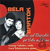 Sonatas & Rhapsodies for Violin & Piano
