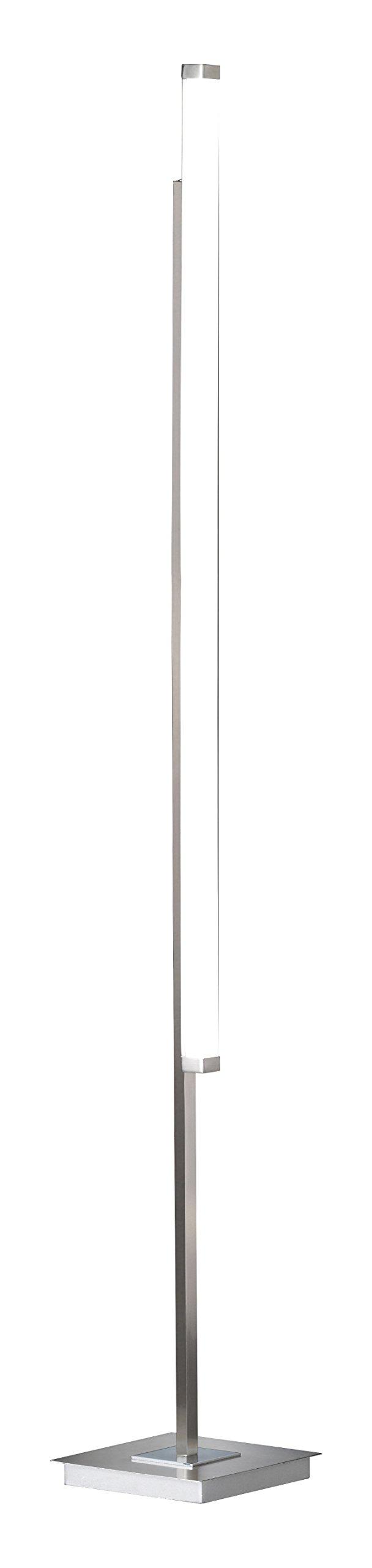 Argento H: 186 cm x B: 62 cm x L: 52 cm 36 W WOFI Piantana Integriert