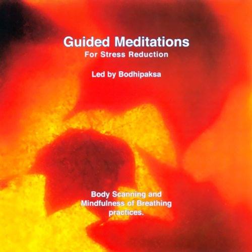 Guided Meditations for Stress Reduction audiobook cover art