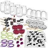 Mason Jar Lantern Craft Kit - DIY Make Your Own Lantern Jar - Craft Project for Kids - Great Gift (Party Pack) -  Mygo2shop