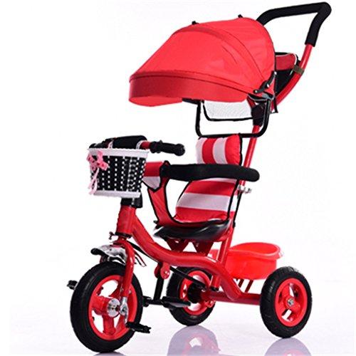 BBZZZ Cochecito de bebé Niños Pequeño Triciclo Interior/Al Aire Libre / 7...