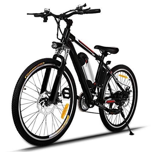 Potente bicicleta eléctrica 26 pulgadas 250W EBike 21 de velocidad del coche...