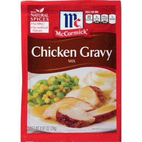 McCormick Chicken Gravy Mix (Pack of 4) .87 oz Packets