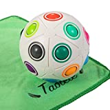 Taolele Magic Rainbow Ball, 20 Löcher Zappelball Magic Puzzle IQ Lernspielzeug für Kinder...