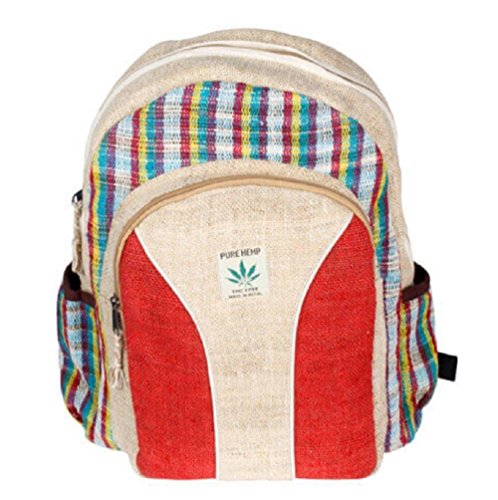 Rucksack aus Hanf, cultbagz Nepal Handmade, Backpack e.Nose