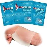 RedRelief Medicazione Per Ustioni 10X10 cm - Confezione da 5