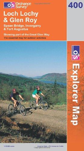 OS Explorer map 400 : Loch Lochy & Glen Roy