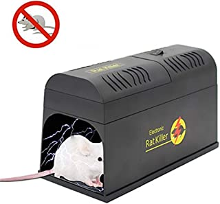 Trampa para Ratones eléctrica Asesino para roedores Asesino Ratón de Alta presión EE. UU. Reino Unido Europa EU Au Plug