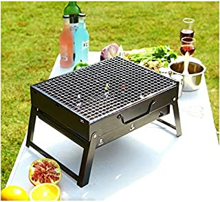 HTTMT- Outdoor Campling Foldable Compact Barbecue BBQ Grill Charcoal Stove Shish Kabob Tabletop For Outdoor Camping Picnic...