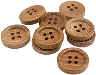 Best small wooden buttons Reviews