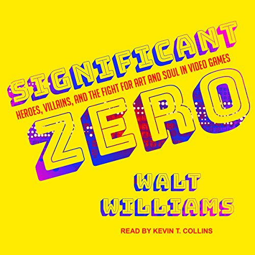 Significant Zero audiobook cover art