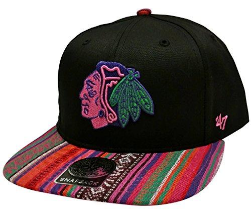 NHL Chicago Blackhawks 47 MVP Cappello Regolabile Headwear