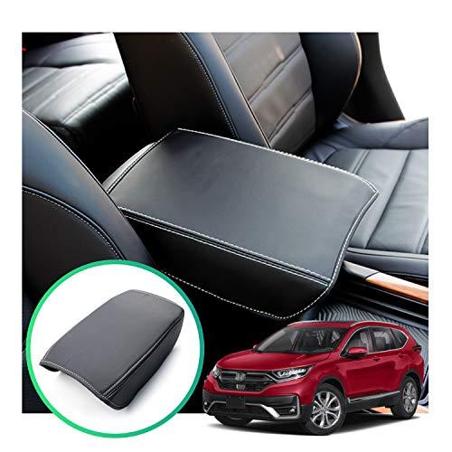 CRV Interior Accessories,Armrest Cover Compatible for Honda CRV,Center Console Armrest Box Cover Fiber for Honda CR-V 2017 2018 2019 2020