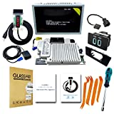 Capacitive Touchscreen Kit, Fits for Ford Lincoln SYNC 2 Upgrade SYNC 3 MyFord Touch (MFT) Support Carplay/Customize UI/Wallpaper,Including GEN IV APIM Module,USB Hub,GPS Navigation Antenna- 8 Inch