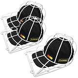 Evelots Ball Cap Cleaner-Washing Machine/Dish Washer-Trucker/Visor Hat-Set/3...