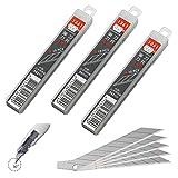 SDI - Pack de 30 Cuchillas de Recambio Acero SK2+Cr. de 9mm / 30º Cutter SDI Ingenuity
