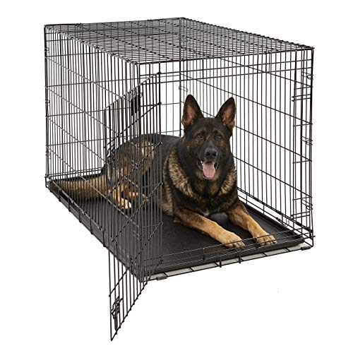 Life Stages LS-1648 Single Door Folding Crate for X-Large Dogs(91 - 110lbs)