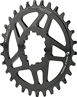 Wolf Tooth Components Elliptical Drop-Stop Chainring: 30T SRAM Direct Mount