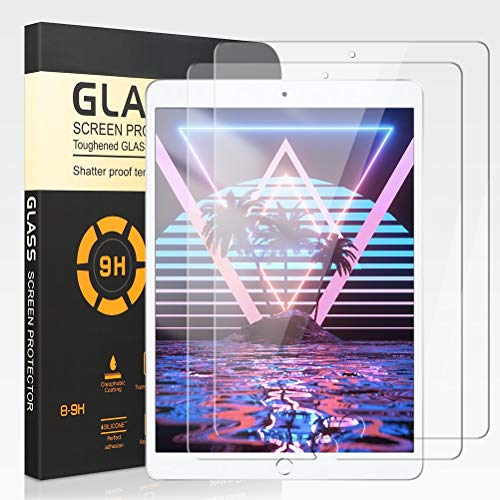 [2 Piezas] Protector de Pantalla para iPad Air/iPad 5, Alta Definición 9H...