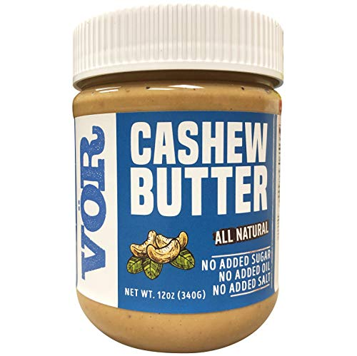 Vor Pure Cashew Butter   Only One Ingredient