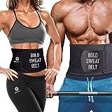 Boldfit Sweat Slim Belt Neoprene Body Shaper and Tummy Trimmer for Men