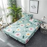 haiba Anti alergia chinches de la cama impermeable colchón cubierta protectora total, 120 cm x 200 cm