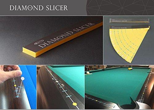 Kamui Diamond Slicer Billardtisch Bandensticker