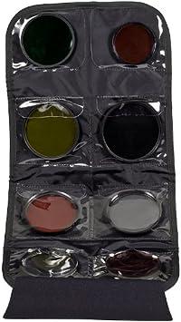 LensCoat FilterPouch 8 neoprene protection camera lens filter Black