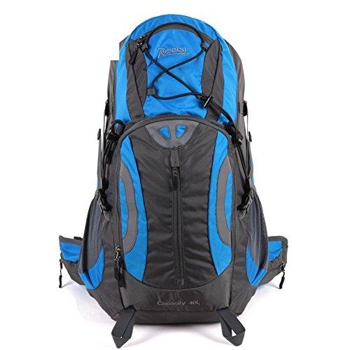Sincere® Package / Sacs à dos / Portable sac de randonnée imperméable / Ultraléger Outdoor / 40L sports récréatifs hommes et les femmes sur 40L de pieds bleu