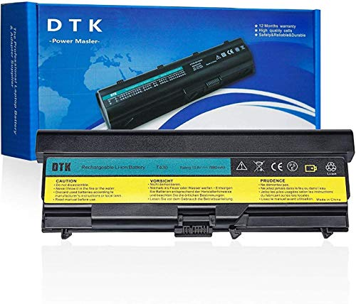 DTK Notebook Laptop Batterie Li-ion Akku für Lenovo IBM Thinkpad T430 T430i T530 T530i W530 W530i L430 L530 Series Notebook Battery (0A36303) (7800MAH)