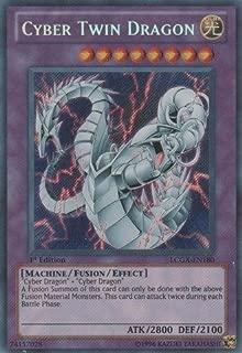 Yu-Gi-Oh! - Cyber Twin Dragon (LCGX-EN180) - Legendary Collection 2 - 1st Edition - Secret Rare