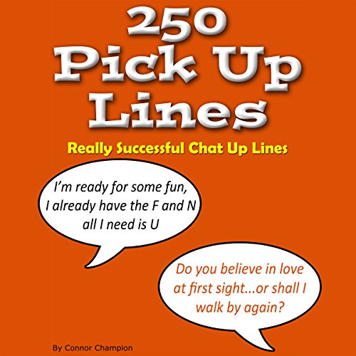 250 Pick up Lines - Chat up Lines That Work audiobook cover art