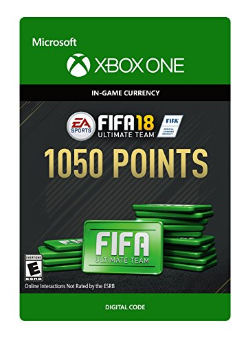 FIFA 18: Ultimate Team FIFA Points 1050 - Xbox One [Digital Code]