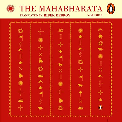 The Mahabharata, Volume 1 cover art