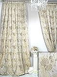 Trendoro 1 Vorhang *Villa Catania Floral*, plastisch Bestickt, edel & Blickdicht. Ateliergefertigt. Maßanfertigungen möglich!