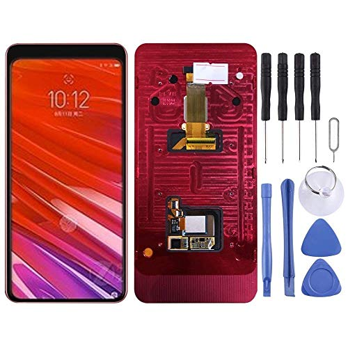 De Galen Accessory Kits LCD Screen and Digitizer Full Assembly with Frame for Lenovo Z5 PRO GT L78032 (Black) (Color : Black) Replacement (Color : Black)