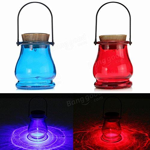 Bazaar Lanterne de table LED solaire avec capteur Aurora