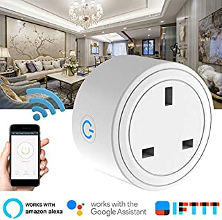 Tinmorry Wifi Smart Plug for home automation compatible with Alexa, Google Home IFTTT