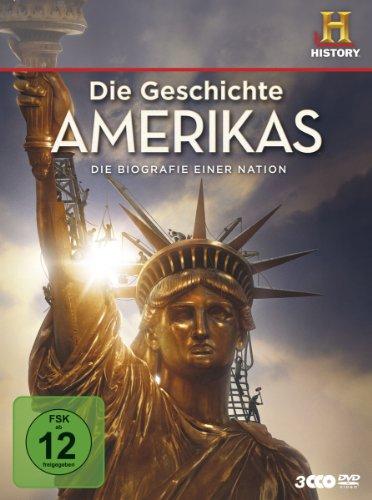 Die Geschichte Amerikas - Die Biografie einer Nation [3 DVDs]
