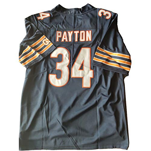 #34_Payton Football Jersey Limited Retired Player - Navy - Men XL