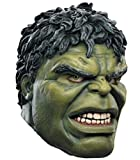 ZhangHD Hulk Latex Mask Cosplay Superhero Costume Halloween Masquerade Mask Green