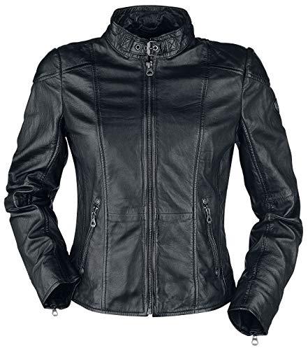 Gipsy Kina S18 LEGV Frauen Lederjacke schwarz XS 100% Leder Basics