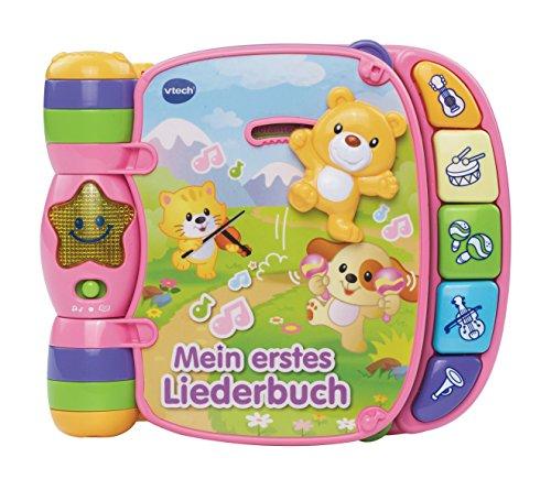 VTech Baby 80-166754 Babyspielzeug - Mein erstes Liederbuch, pink