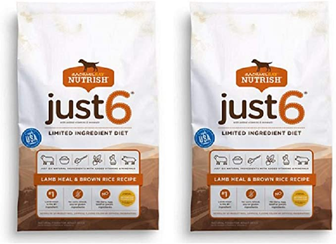 Rachael Ray Nutrish Just 6 Limited Ingredient Natural Dry Dog Food | Chewy