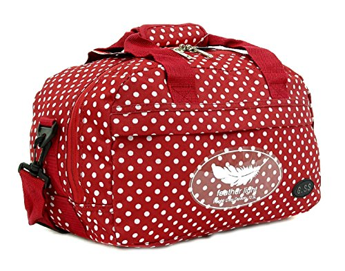 GSS , Trolley Rosso Red Dots carry-on